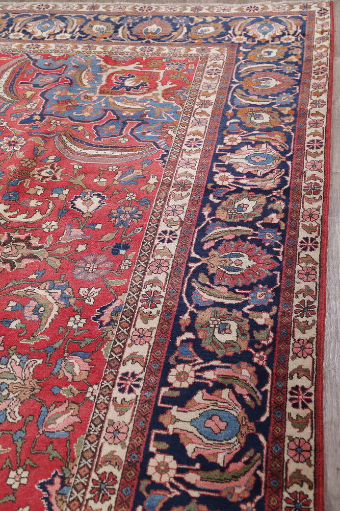Antique Vegetable Dye Bakhtiari Persian Area Rug 12x14 image 14