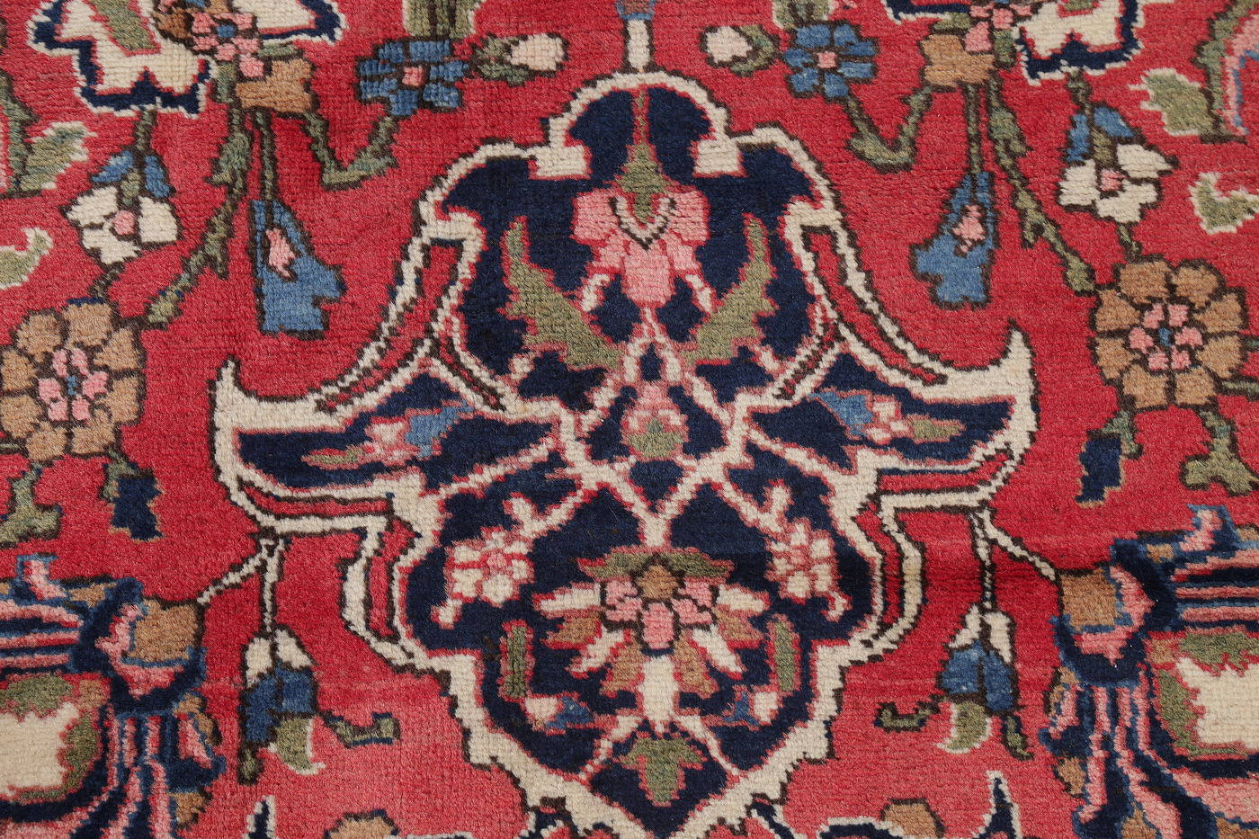 Antique Vegetable Dye Bakhtiari Persian Area Rug 12x14 image 9