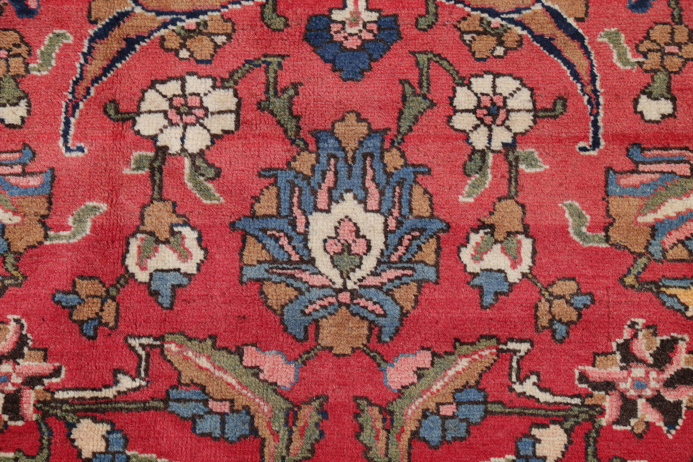 Antique Vegetable Dye Bakhtiari Persian Area Rug 12x14 image 11