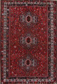 Geometric Shiraz Persian Area Rug 7x10