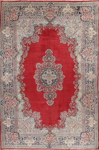 Floral Kerman Persian Area Rug 11x16