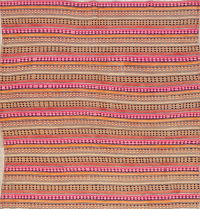 Flat-weave Kilim Shiraz Persian Square Area Rug 6x6