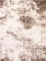 Reproduction Abstract Modern Ivory/Brown Turkish Oriental Area Rug image 13