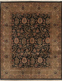 Floral Agra Indian Oriental Area Rug 8x10