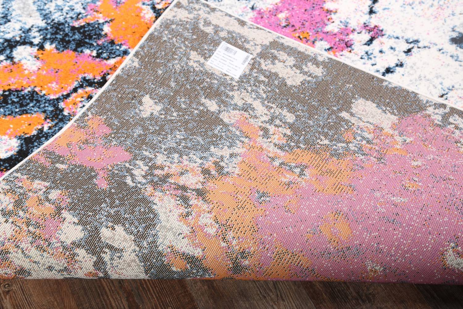 Transitional Floral Nature Print  Oriental Area Rug image 9