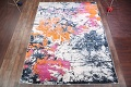 Transitional Floral Nature Print  Oriental Area Rug image 2