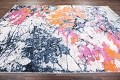 Transitional Floral Nature Print  Oriental Area Rug image 6