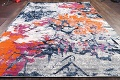 Transitional Floral Nature Print  Oriental Area Rug image 7