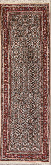 All-Over Floral Bidjar Persian Runner Rug 3x8