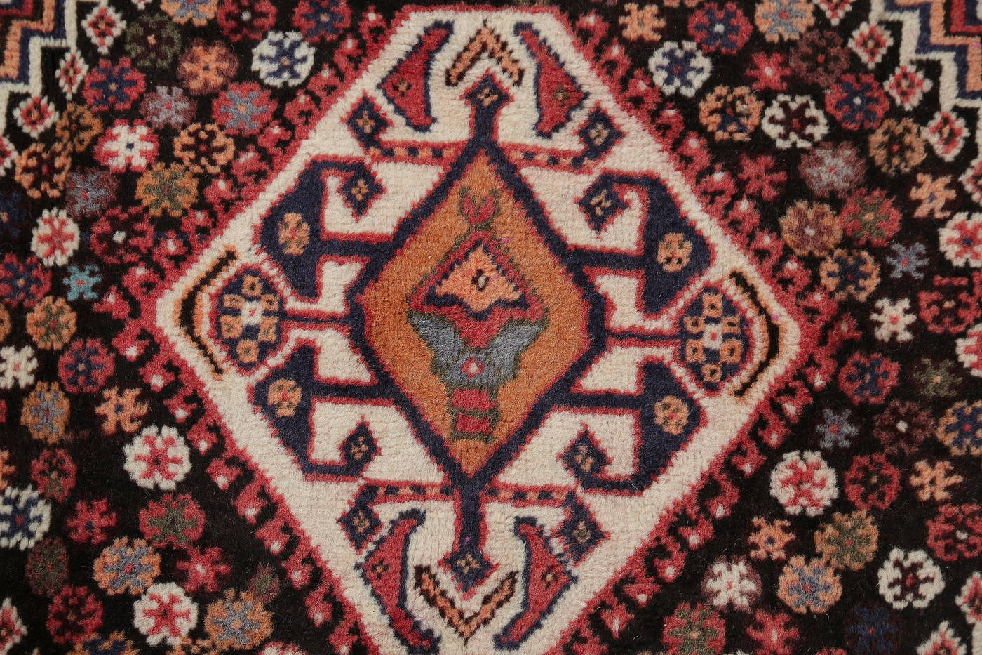 Red Tribal Geometric Kashkoli Persian Area Rug 6x10