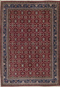 Red Floral Agra Style Indian Oriental Area Rug 10x14