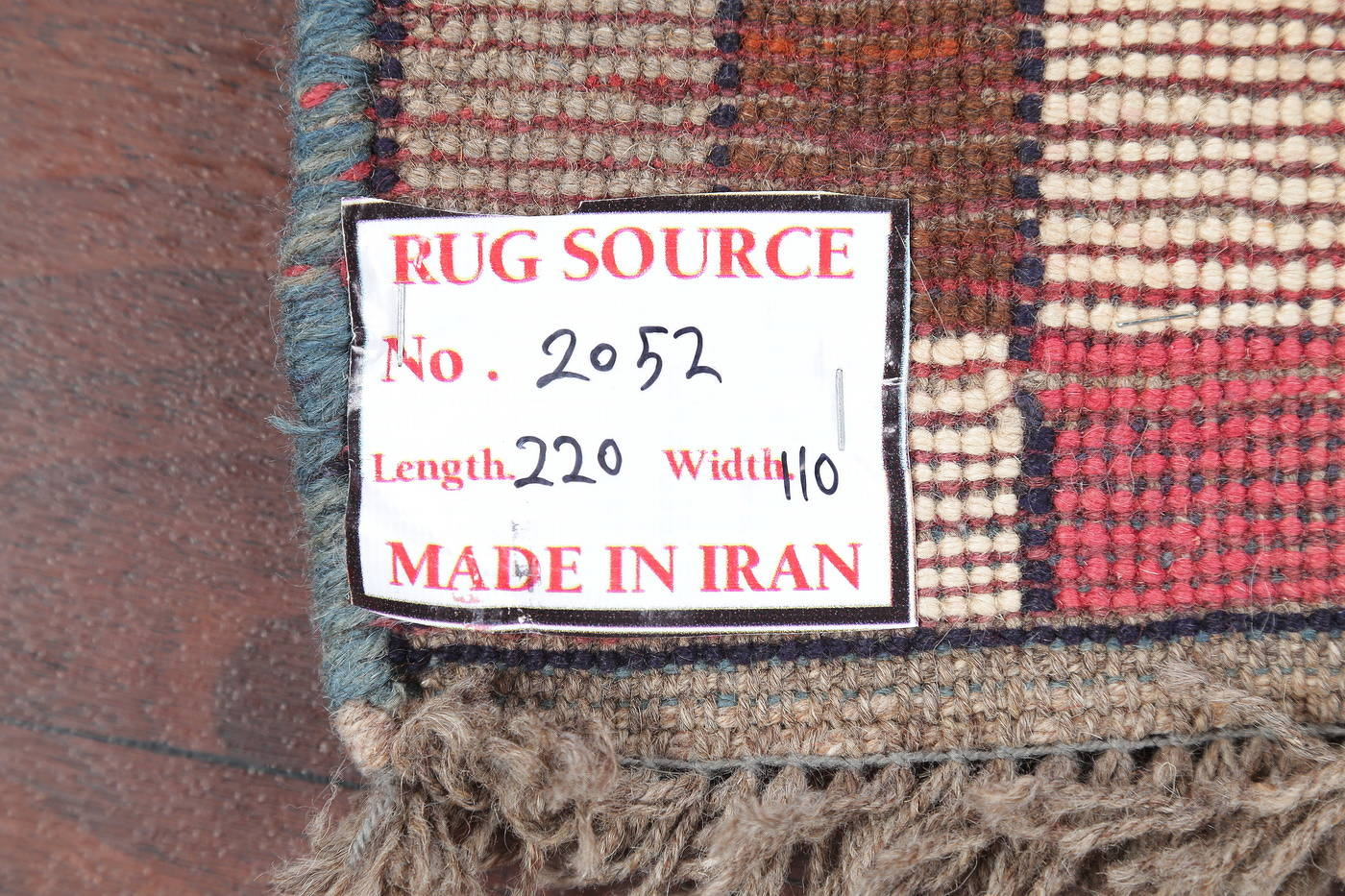 Hand-Knotted Checked Gabbeh Shiraz Persian Area Rug 4x7 image 15