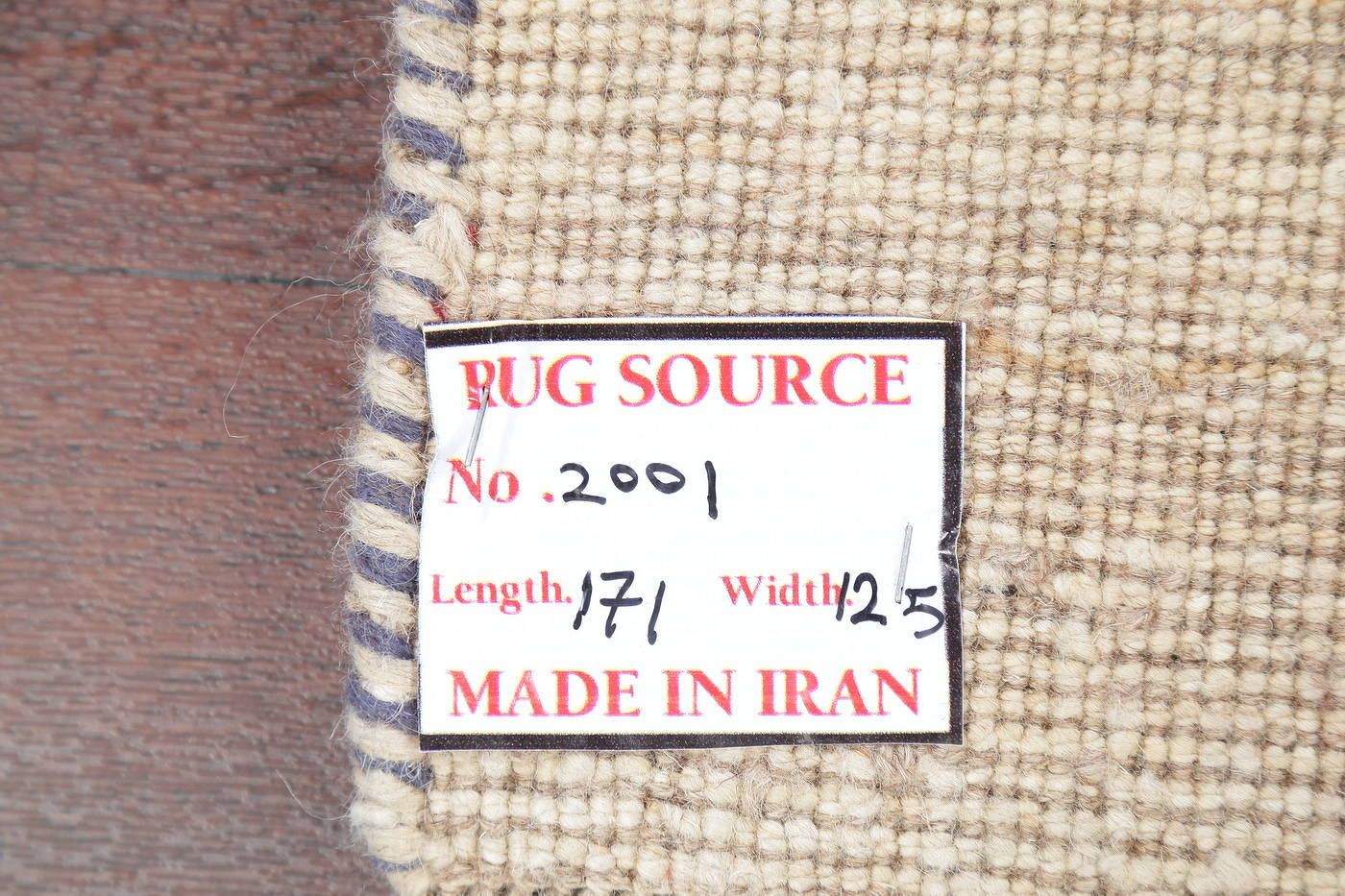 Hand-Knotted Ivory Gabbeh Zolanvari Persian Area Wool Rug 4x6