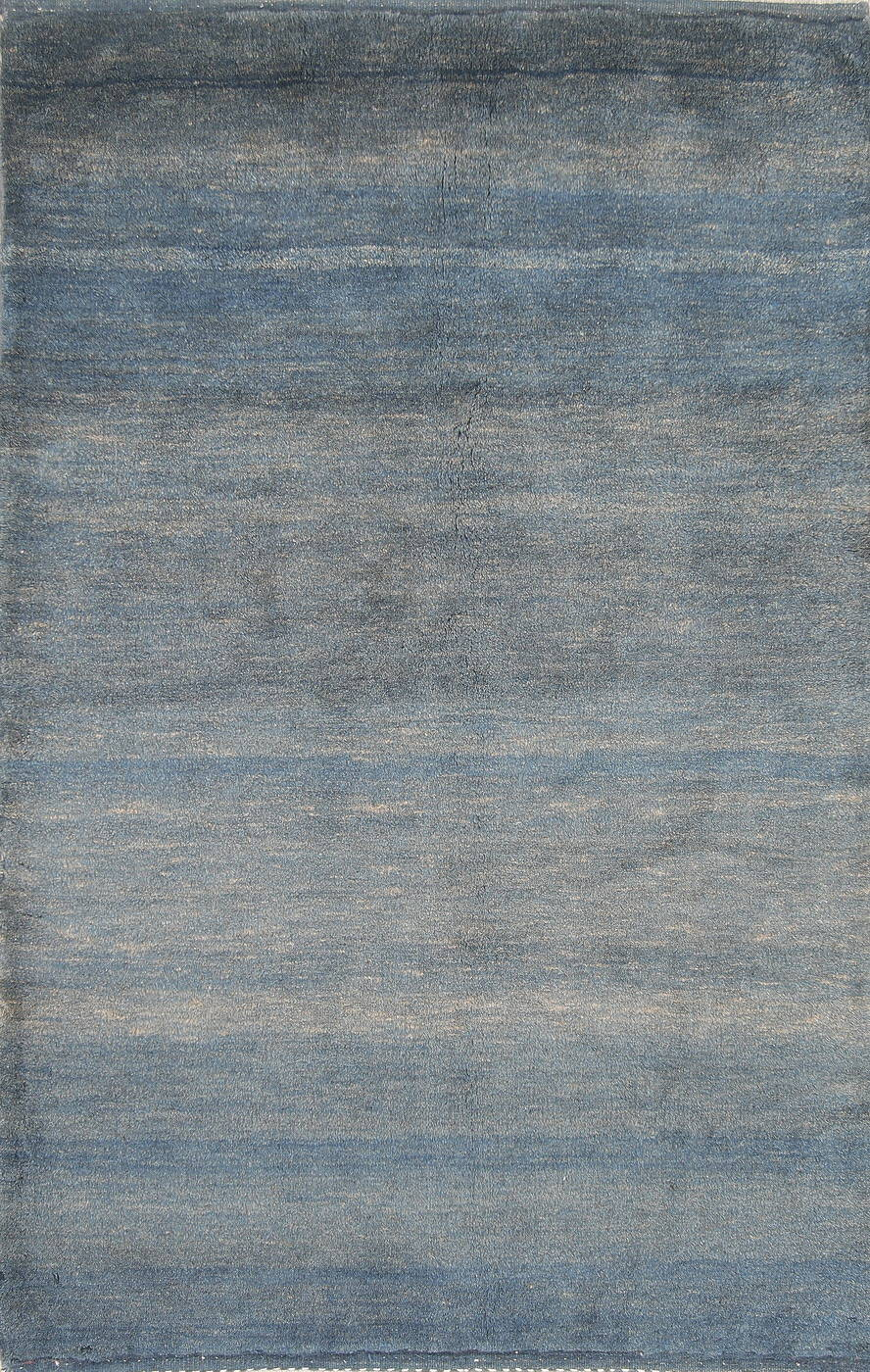 Hand-Knotted Contemporary Gabbeh Shiraz Persian Wool Rug 3x5