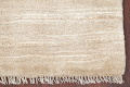 Hand-Knotted Beige Contemporary Gabbeh Zollanvari Persian Rug Wool 3x5 image 6