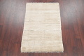 Hand-Knotted Beige Contemporary Gabbeh Zollanvari Persian Rug Wool 3x5 image 2