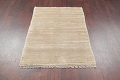 Hand-Knotted Beige Contemporary Gabbeh Zollanvari Persian Rug Wool 3x5 image 8