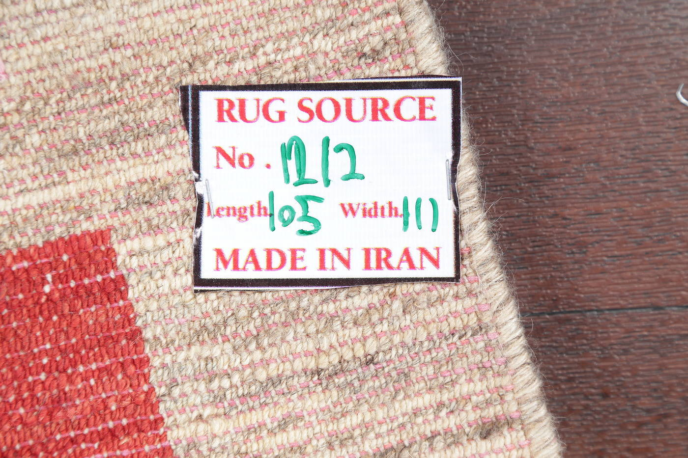 Hand-Knotted Contemporary Gabbeh Zollanvari Persian Area Rug Wool 4x5