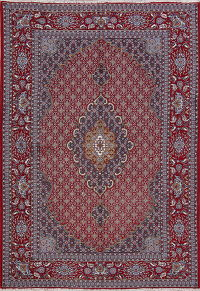 Floral Red Bidjar Turkish Oriental Area Rug 7x10
