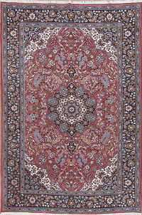 Floral Red Kashmar Turkish Oriental Area Rug Wool 6x10