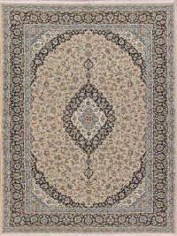 Floral Brown Agra Turkish Oriental Area Rug 7x10