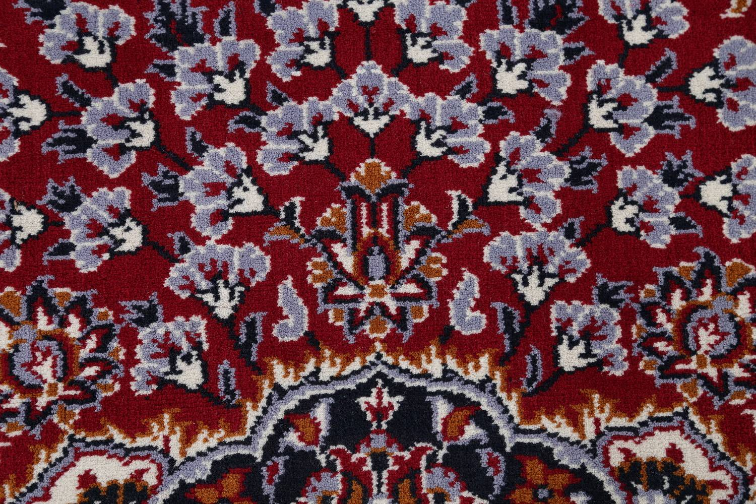 Floral Red Najafabad Isfahan Turkish Oriental Area Rug Wool 9x12