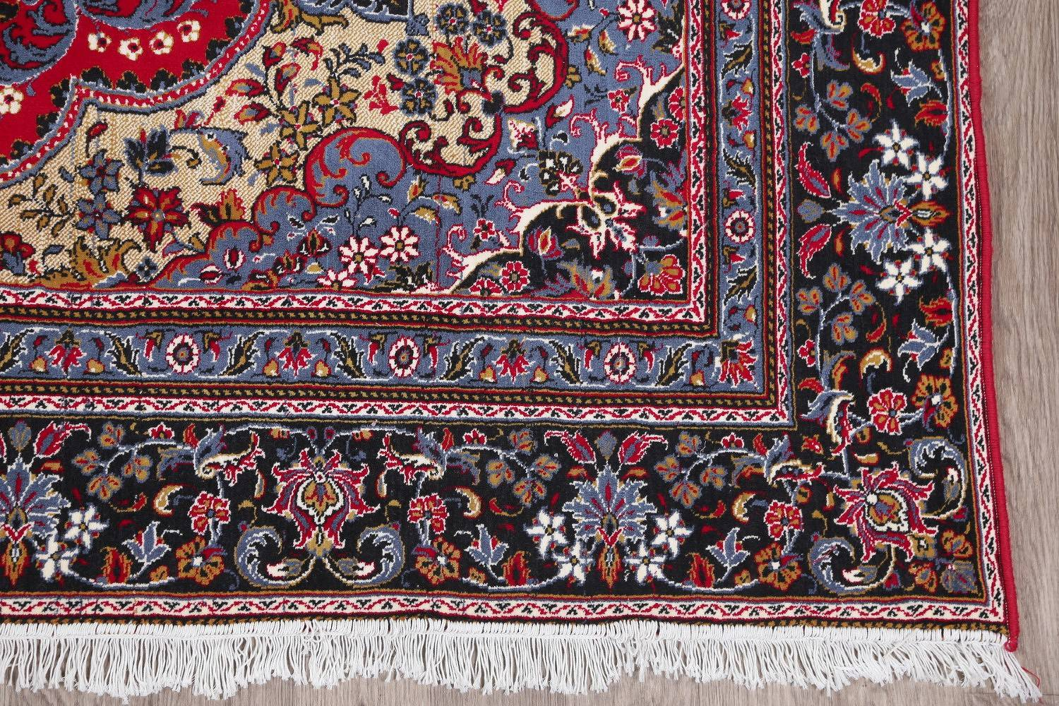 Floral Red Oushak Turkish Oriental Area Rug 9x13