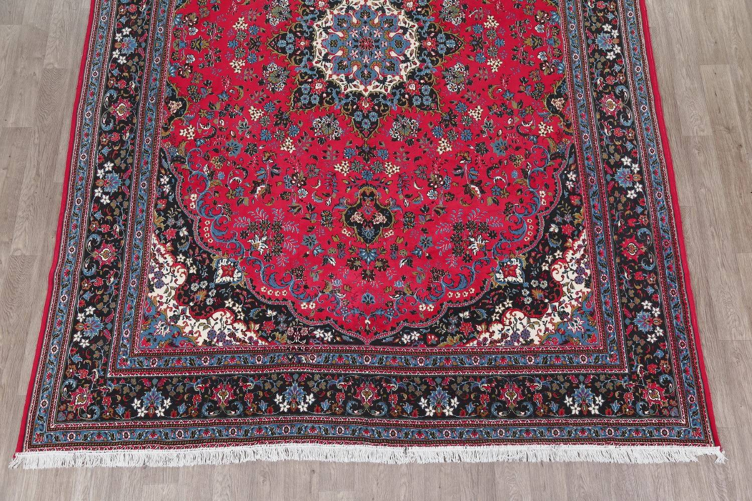 Floral Red Agra Turkish Oriental Area Rug 9x13