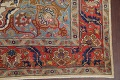 Antique Vegetable Dye Tabriz Persian Hand-Knotted Area Rug Wool 10x13 image 6