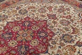 Antique Vegetable Dye Tabriz Persian Hand-Knotted Area Rug Wool 10x13 image 10