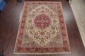 Antique Vegetable Dye Tabriz Persian Hand-Knotted Area Rug Wool 10x13 image 2