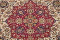 Antique Vegetable Dye Tabriz Persian Hand-Knotted Area Rug Wool 10x13 image 4