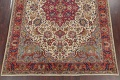 Antique Vegetable Dye Tabriz Persian Hand-Knotted Area Rug Wool 10x13 image 5