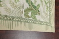 Mansion Floral Green Aubusson Savonnerie Needle-Point Chinese Wool Rug 11x16 image 11
