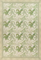 Mansion Floral Green Aubusson Savonnerie Needle-Point Chinese Wool Rug 11x16 image 1