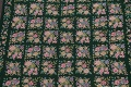 Hunter Green Floral Aubusson Needle-point Chinese Woven Area Rug Wool 6x9 image 4
