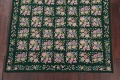 Hunter Green Floral Aubusson Needle-point Chinese Woven Area Rug Wool 6x9 image 5