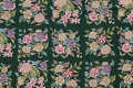 Hunter Green Floral Aubusson Needle-point Chinese Woven Area Rug Wool 6x9 image 8