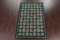 Hunter Green Floral Aubusson Needle-point Chinese Woven Area Rug Wool 6x9 image 2