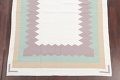Contemporary Ivory Kilim Dhurrie Oriental Hand-Woven Area Rug Wool 6x9 image 5