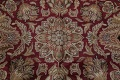 Mansion Floral Burgundy Agra Oriental Hand-Knotted Rug Wool 12x18 image 11