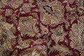 Mansion Floral Burgundy Agra Oriental Hand-Knotted Rug Wool 12x18 image 7