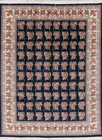 Floral Aubusson Pakistan Oriental Hand-Knotted 8x10 Wool Area Rug