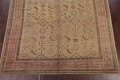 Pre-1900 Antique All-Over Geometric Muted Color Oushak Turkish Area Rug 10x13 image 5