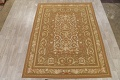 Floral Brown Aubusson Chinese Oriental Hand-Woven Area Rug Wool 8x10 image 2