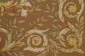 Floral Brown Aubusson Chinese Oriental Hand-Woven Area Rug Wool 8x10 image 8