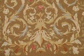 Floral Brown Aubusson Chinese Oriental Hand-Woven Area Rug Wool 8x10 image 9