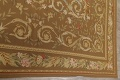 Floral Brown Aubusson Chinese Oriental Hand-Woven Area Rug Wool 8x10 image 11