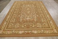 Floral Brown Aubusson Chinese Oriental Hand-Woven Area Rug Wool 8x10 image 13