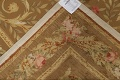 Floral Brown Aubusson Chinese Oriental Hand-Woven Area Rug Wool 8x10 image 18